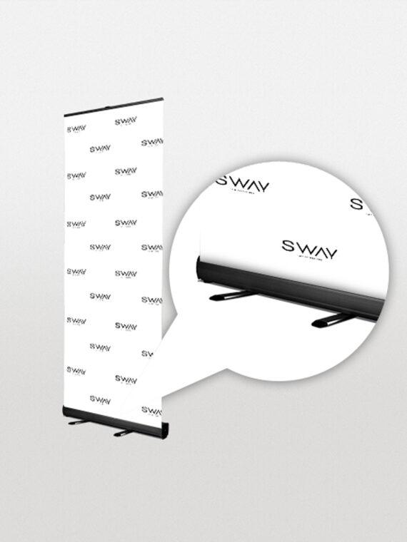 sway branding board